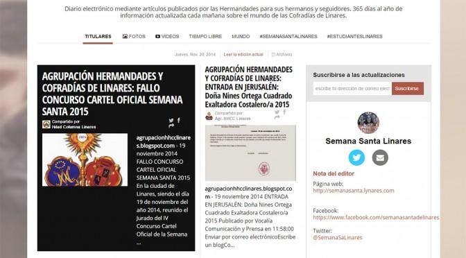 Diario online sobre las hermandades de Linares