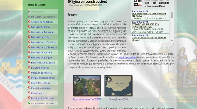 Captura web 'Imágenes de Linares'