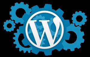 Páginas web realizadas con wordpress (logo con engranajes)