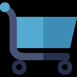 carro carrito compra tienda online ecommerce 256 x 256 icono